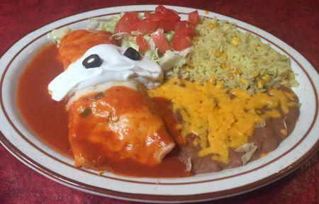 El Charro Avitia Mexican Restaurant, Flour Enchilada