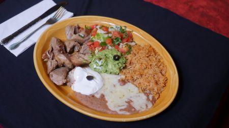 El Charro Avitia Carson City Mexican Restaurant, Carnitas